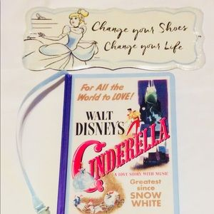Cinderella Shoes Change Your Life Sign and Journal
